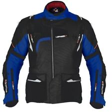Oxford Montreal Touring Waterproof Motorcycle Textile Jacket - Black / Blue