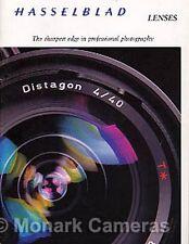 Hasselblad Camera Lens Brochure, More Medium Format Catalogues & Leaflets Listed