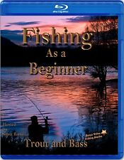 Trout and Bass Fishing as a Beginner instruction dvd video (Blu-ray)