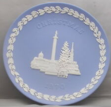 Wedgwood Christmas 1970 Plate Trafalgar Square London Made In England tk