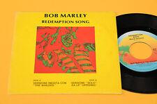"""BOB MARLEY 7"""" RÉDEMPTION SONG 1°ST ORIG ITALIE 1980 EX VERSION NON PUBLIÉ"""