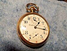 Vintage Rockford Scare Winding Indicator 17J Gold Filled Running Pocket Watch