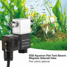 Aquarium CO2 Magnetic Solenoid Valve Regulator CO2 Tank Electric Magnetic Valve