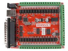 6 Axis USB Interface Mach3 Stepper Motor Controller Card CNC Breakout Board PWM