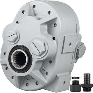 VEVOR Hydraulic Tractor PTO Pump 39.3GPM 1000RPM Hydraulic Pump