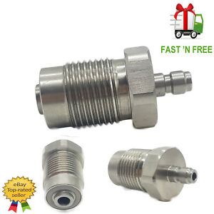 AIR RIFLE FILLING BOTTLE DIN FITTING HOSE WHIP DIN VALVE QUICK CONNECT ADAPTOR