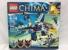 LEGO Chima Eris' Eagle Interceptor 70003 Set Legends of Eris Razar Rizzo 348 Pc