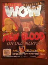 WOW wrestling magazine Aug. 2000 vol. 2 issue 4 Hulk Hogan New Blood WCW WWF