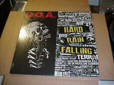 LP:  D.O.A. - Hard Rain Falling  SEALED NEW PUNK DOA