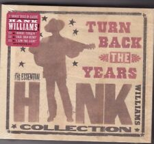 Hank Williams #Turn back the years The essential collection# 3 CD box set SEALED