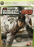 Xbox 360 2K Sports Major League Baseball 2K9 Korea