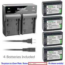 Kastar Battery Rapid Charger for Sony NP-FV50 & Sony DCR-SX15 DCR-SX20 DCR-SX21