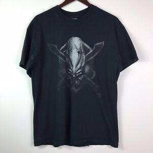 Y2K Halo 3 Arbiter Legendary Emblem Logo Black Shirt Adult Size Large
