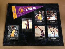 Kobe Bryant mini Pennant Plaque 6 Anthology Cards($4 each) Great Gift LA Lakers