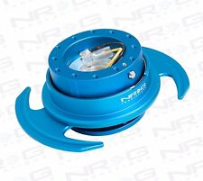 NRG GEN 3.0 Steering Wheel QUICK RELEASE KIT w/ Shift Paddle (BLUE Finish)
