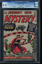 JOURNEY INTO MYSTERY #83 CGC 4.0 OWW ORIGIN AND 1ST APP OF THOR  #1092767001