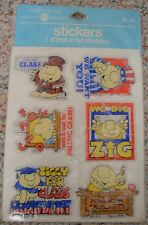 Ziggy Puffy Vinyl Stickers, 1982, MOC!