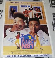 Kid 'n Play Signed House Party 27x40 Poster PSA/DNA COA Christopher Reid Martin