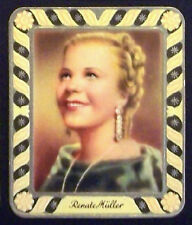 Renate Müller 1934 Garbaty Film Star Series 2 Embossed Cigarette Card #11