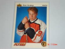 1991-92 UD HOCKEY PETER FORSBERG ROOKIE FRENCH