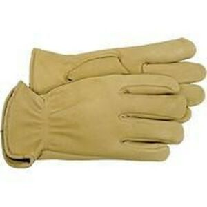 NEW BOSS 4085S SMALL DEER SKIN PREMIUM LEATHER UNLINED WORK CASUAL GLOVES SALE