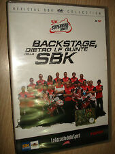 DVD N° 12 SUPERBIKE TRIBUTE PIANETA MOTO SBK OFFICIAL BACKSTAGE DIETRO LE QUINTE