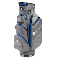 Motocaddy Dry Series Cart Bag 14 way Divider Charcoal/Blue Brand New Waterproof