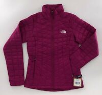 The North Face Women's Thermoball Eco Jacket Dramatic Plum NWT FREE SHIPPING
