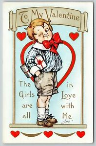 Valentine~Proud Boy Winks~All Girls in Love With Me~Whitney Made