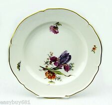 KPM GERMANY 19TH CENTURY CABINET FLOWER PLATE MUSEUM QUALITY NO CHIPS # 4