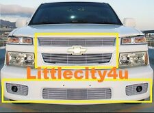 For 04~10 Chevy Colorado Extreme Billet Grille Grill COMBO inserts