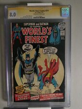 World's Finest Comics #211 Cgc 8.0 Signature Series signed by Neal Adams