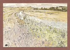 """Anthony Gross  """"Le Trepadou with Road & Cornflowers"""" ,  S.W.France 1978    AH237"""