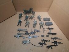 Modern Chap Mei, Millitary Action Figure Lot Of 8 W/WEAPONS