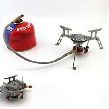 Durable 3500W Portable Foldable Outdoor Camping Picnic Gas Burner Steel Stove US