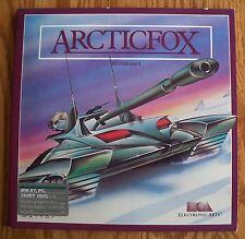 Vintage Arctic Fox Computer Game 1985 IBM PC XT Tandy 1000 Electronic Arts