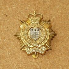 ROYAL LOGISTICS  CORPS BI-METAL QC CAP  BADGE