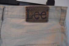 Vintage Lee Cooper Brooklyn straight beige jeans  W 34 L 30