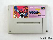 Mazinger Z Super Famicom Japanese Import Tranzor Sfc Snes Japan Jp Us Seller B