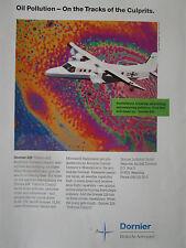 7/1991 PUB DORNIER 228 SURVEILLANCE AIRCRAFT MPA FLUGZEUG ORIGINAL AD
