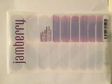 Jamberry Nails (new) 1/2 sheet COTTON CANDY KISSES 0916