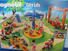 5024 Grande Parque Infantil Varias Dispositivos Figuras Plaza Playmobil