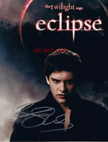 HAND SIGNED - RILEY  TWILIGHT NEW MOON  ECLIPSE - XAVIER SAMUEL - WITH COA  8X10