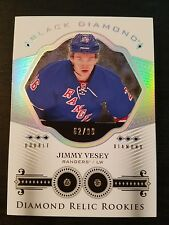 16-17 UD Black Diamond Diamond Relic Rookies Jimmy Vesey 62/99 Double Diamond