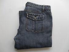 Ann Taylor Curvy Fit Lindsay Waist  Jeans Women's Size 8  Blue Denim
