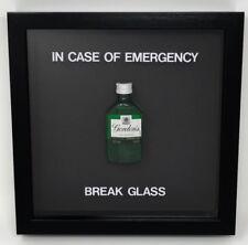In Case Of Emergency Break Glass - Novelty Gift - Miniature Gin - Water Filled