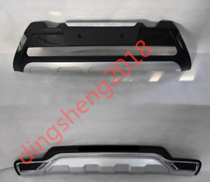 Front+Rear Bumper Guards Board Skid Plate Protector Bar Fit For KIA Sorento