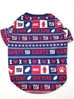 New York Giants Ugly Dog Shirt SMALL Size S Football NFL T-Shirt Logo Style