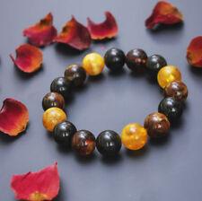 Baltic amber beads bracelet multicolor elegant natural Exclusive 23 gr