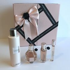 Viktor & Rolf Flower Bomb 4 Piece Perfume and Lotion Gift Set - New in Packaging